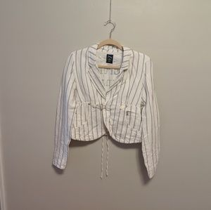 Final Price! Diesel Pinstripe Blazer